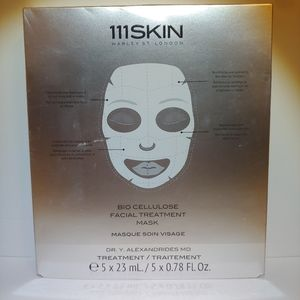 111Skin Bio Cellulose Facial Treatment Mask ×5